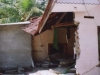 Showing typical Tsunami damage to a home (Jan 2005)